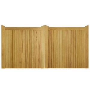 Pair of Manor 6' Iroko Gates