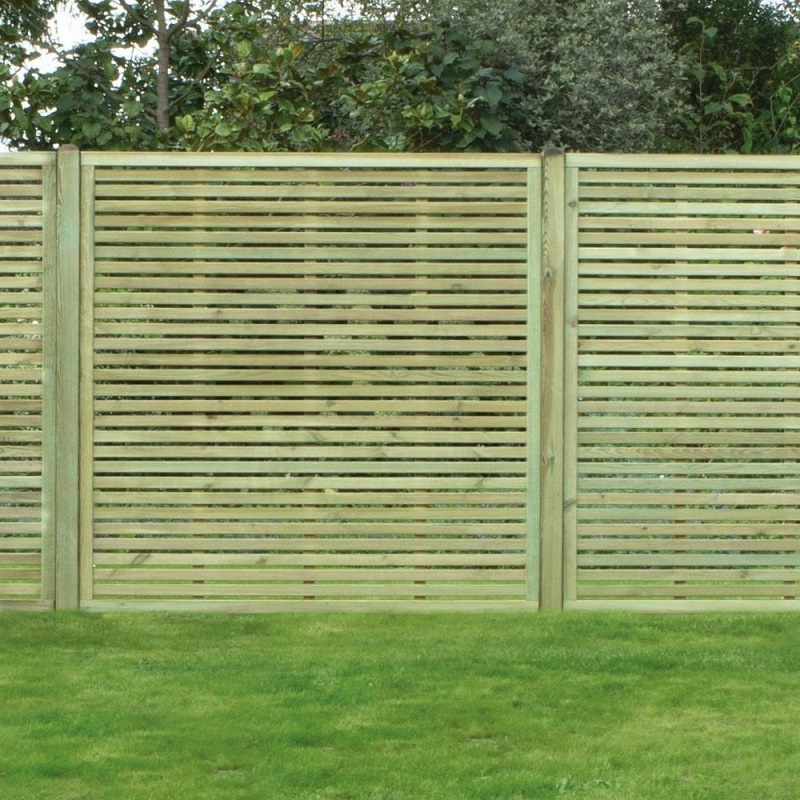 Slatted panel 1800mm x 1800mm