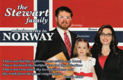 Norway- The Stewart Family