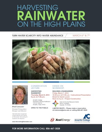 Rainwater Harvesting Flyer