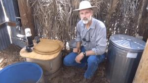David Omick HT Build a Composting Toilet Barrel System