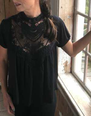 little lace blouse