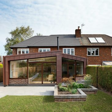 Harvey and Clark total house rebuild plus extensions in Melbourne, Derbyshire.