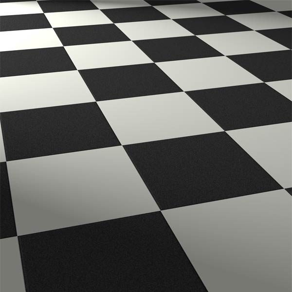 squares linen white
