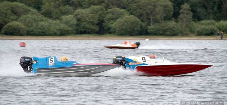 Heat 1 win for Harvey – Powerboat GP Chasewater Grand Prix