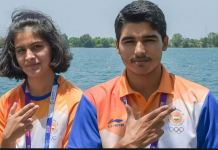 Manu Bhaker, Saurabh Chaudhary Smash World Record with Gold at Asian Airgun Championship