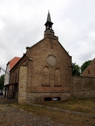 Bild: Die Kapelle des landwirtschaftlichen Gutes zu Welfesholz.