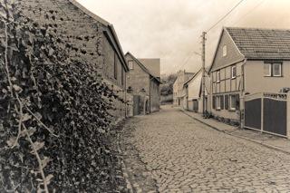"""Bild: Berga am Kyffhäuser ist der Geburtsort des Ritterkreuzträgers und U-Boot-Kommandanten Heinrich """"AJAX"""" Bleichrodt. Aufnahme (c) 2013 by Birk Karsten Ecke."""