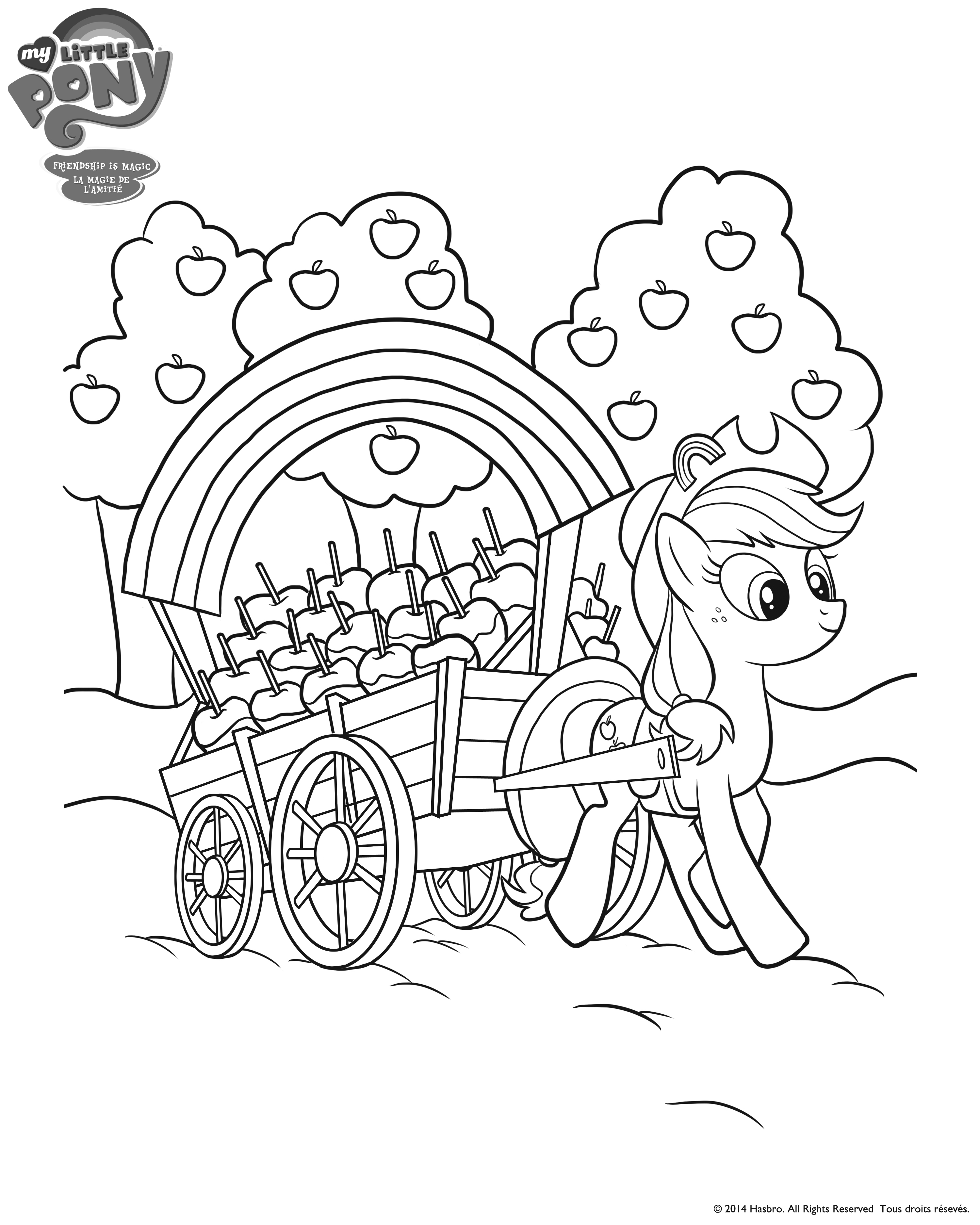 My Little Pony Coloring Pages Hasbro Coloring Page