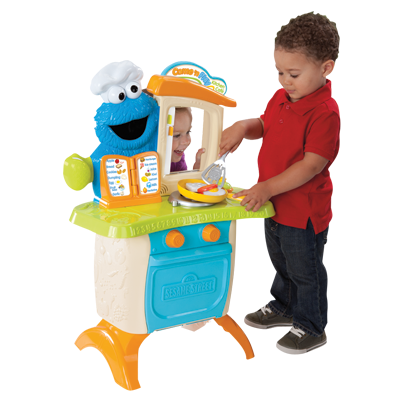 Hasbro Sesame Street Come 'N Play Cookie Monster Cafe