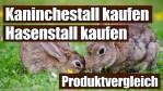 ◼️ Kaninchenstall kaufen | Der ultimative Vergleich 2019 / 2020 – Ratgeber & Kauftipps