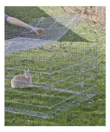 Das Kerbl 82825 Freigehege mit Ausbruchsperre ist ein großes und gut bewertetes Kaninchen Freilaufgehege. Alle Produktdetails im Überblick.