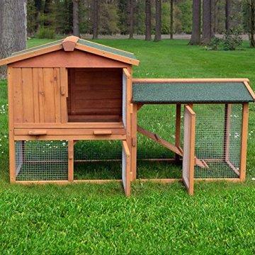 Das ZooPrimus Kaninchenstall Hasenstall Nr 01 HASENVILLA mit Vorteilen und Nachteilen.