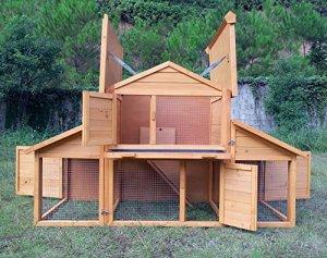 Der Der Zoopplier Nr. 01 Möhrchen Kaninchenstall Kleintierhaus Hasenstall ist ein moderner und hochwertiger Kaninchenstall - Kaninchenstall kaufen und Hasenstall kaufen. ist ein XXL hasenstall mit viel Platz für Deine Tiere.