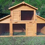 ► Zoopplier Nr. 01 Möhrchen Kaninchenstall Hasenstall Kleintierhaus