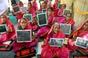 مدرسة جدات ........ لمحو الأمية لدى النساء المسنات في الهند