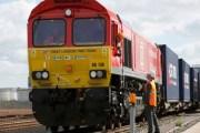 انطلاق أول رحلة لقطار شحن من بريطانيا إلى الصين