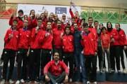 الأردن يسيطر على منصة تتويج الفرق في البطولة العربية للمبارزة