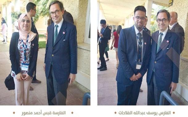 «فرسان حقق» يمثلون الأردن في مؤتمر دولي