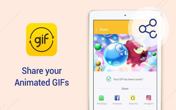 تطبيق DU GIF Maker لإنشاء صور GIF من فيديو أو صور