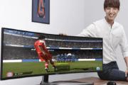 أكبر شاشة ألعاب منحنية في العالم..... للحواسب الشخصية!