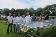مشروع بحثي لبناء أول قارب شمسي أردني