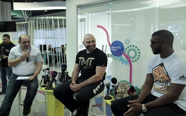 منصة زين للإبداع ZINC تستضيف أبطال العالم للملاكمة والكيك بوكسينج