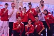 منتخب التايكواندو يستحوذ على المراكز الأولى في بطولة فلسطين الدولية
