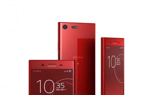 هاتف Xperia XZ Premium من سوني متوفّر الآن باللون الأحمر
