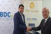 اتفاقية بين مركز تطوير الأعمال و (THE Group) لرفع قدرات الشباب