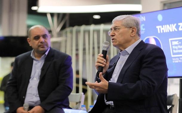 ميشيل الصايغ يحاور الشباب في منصة زين للإبداع ZINC- صور
