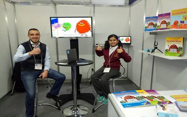 شركة Helloworldkids تتواجد في اكبر معرض متخصص بتكنولوجيا التعليم