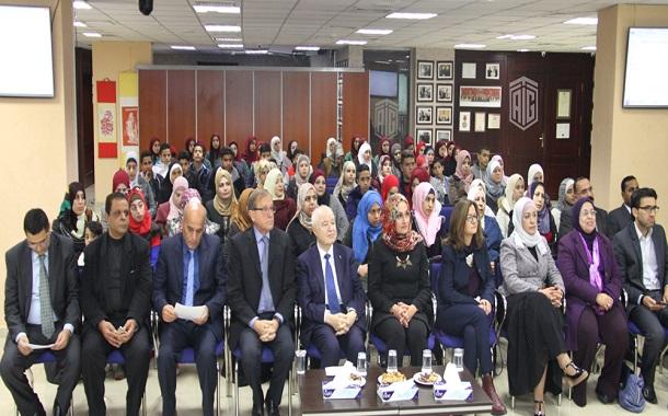 أبوغزاله يكرّم المتميزين في التربية الإعلامية في مدارس وكالة الغوث -الأونروا