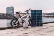 ابتكار دراجة كهربائية مذهلة تعمل بالطاقة الشمسية