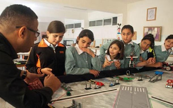 طلاب فلسطينيون يتنافسون في 'فيرست ليغو ليغ' للروبوت