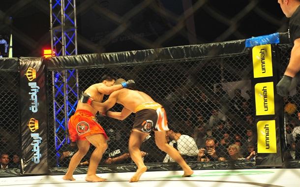 أمنية تدعم منافسات بطولة النسخة العاشرة من القتال الشجاع