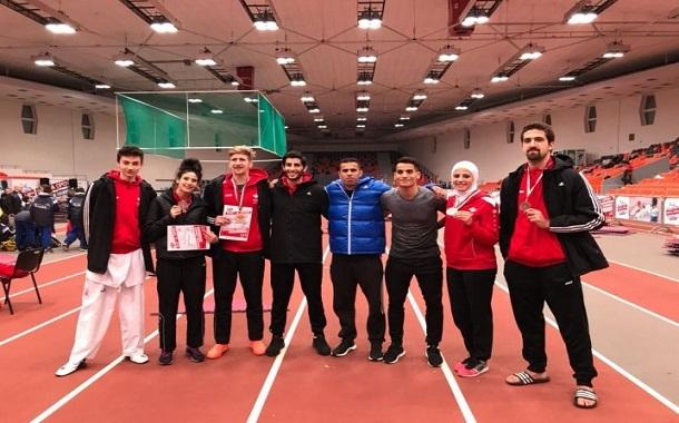 ذهبيتان وثلاث برونزيات لمنتخبات التايكواندو في ختام بطولة صوفيا الدولية