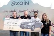 زين تُعلِن عن الفائز بالسيارة الأولى من مشتركيها في جرش وعجلون