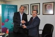 مذكرة تفاهم بين  وكالة بترا  وشركة زين لزيادة مجالات التعاون