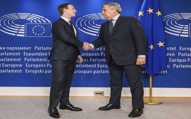 زاكربرغ يعتذر للأوروبيين تحت قبة برلمانهم