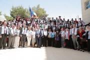 تخريج الدفعة الثانية من مشروع التعليم السوري الأردني