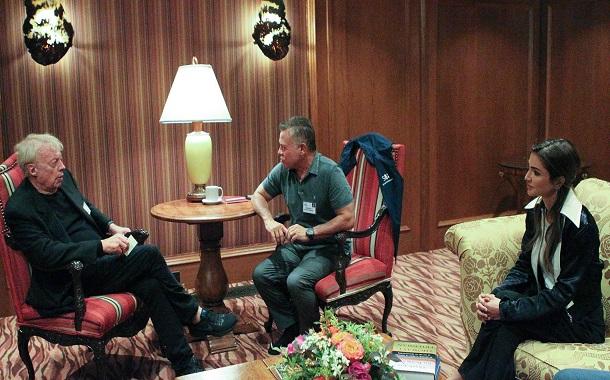 الملك يشارك في الملتقى الاقتصادي بمدينة صن فالي الأميركية