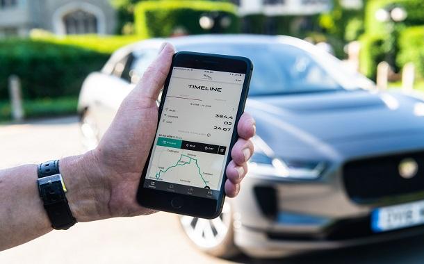 """تطبيق جديد يضع تجربة قيادة""""جاكوار""""I-PACE  الكهربائية في متناول الجميع"""