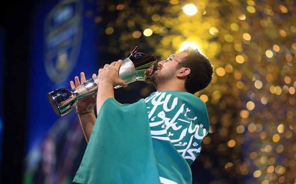 ثاني سعودي يحقق اللقب........ مساعد الدوسري بطلا لكأس العالم بلعبة