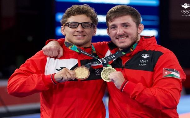 الجوجيتسو يضيف ذهبية وبرونزية لرصيد الأردن في دورة الألعاب الآسيوية باندونيسيا