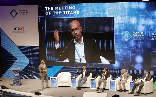 """"""" منتدى الاتصالات"""" ….. الجاسم يشارك في الجلسة الختامية لمنتدى الاتصالات MENA ICT 2018"""