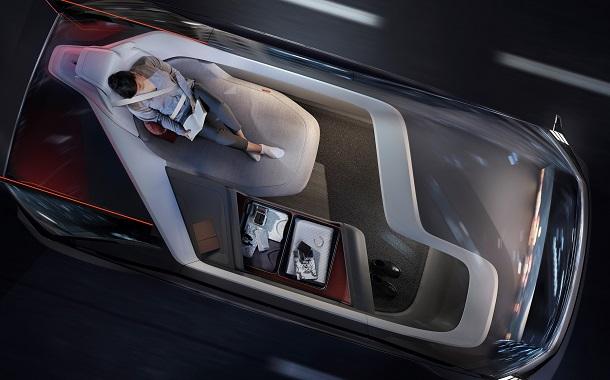 مفهوم فولفو الجديد 360c الجديد للقيادة الذاتية