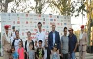 طيران الإمارات تحتفل بمهرجان التنس مع أطفال الأردن