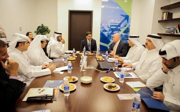 وفد قطري رسمي يزور مجمع الملك الحسين للاعمال  للاطلاع على الفرص الاستثمارية