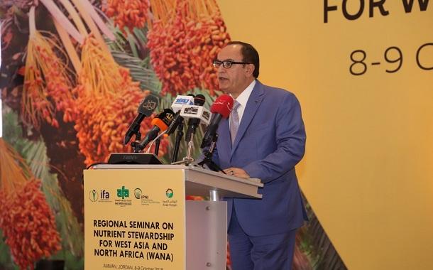 الصرايرة  يفتتح اعمال مؤتمر الاتحاد العالمي للاسمدة المنعقد في عمان
